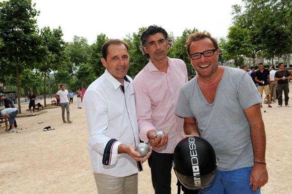 3. Laurent Flavin, Brice Descombes-Mathieux et Pierre-Yves Gas