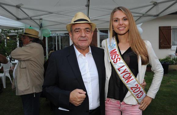 31. Michel Jovanovic (TJBAT) et Céline Laporte Miss Lyon 2013