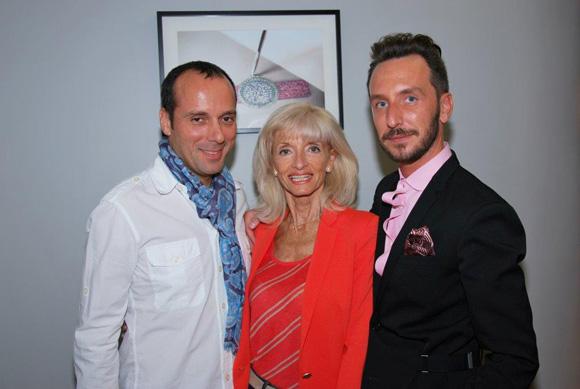32. François & Marie Annick Berube (Boutique Dior) et Sébastien Gaigher (Maier)