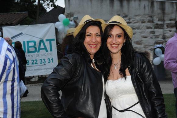 32. Sandra Jovanovic et Céline Magalhaes (TJBAT)
