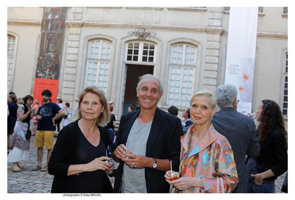 33. Christiane Viornery, Numa Droz, et Marie-Agnès Gachet-Mauroz, artistes peintres