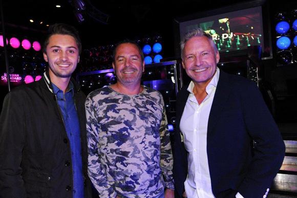 33. Axel Chabert, Jean-Paul Donjon et Marc Chabert (First)