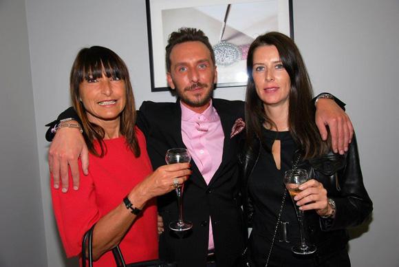 33. Véronique Cortesi, Sébastien Gaigher (Maier) et Rachel