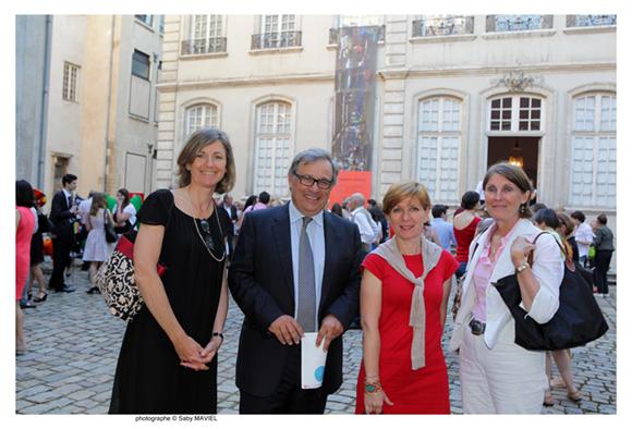 34. Blandine Vignon, Emanuel Imberton, Béatrice Moulin et Françoise Desprez (CCI de Lyon)