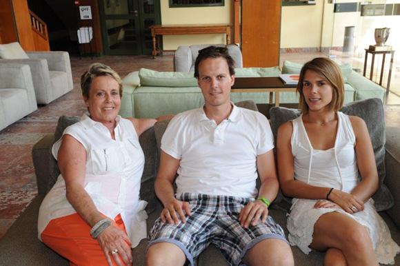 37. Carole Dufour, son fils Axel et Marion Ginon (Idées en Tête)