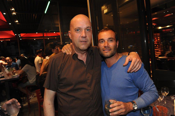 38. Pascal Carré et Serge Gradante