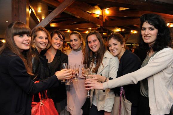 45. Maéva, Marie-Anne, Marine, Palona, Cyrille, Manon et Stéphanie les futures Lauréates