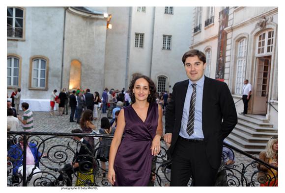 47. Lydiane Chomianne, restauratrice de peinture et Etienne de Baecque, Commissaire-Priseur