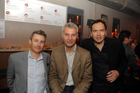 48. Thierry Lahon (à KGB), Jérôme Malaski et Pierre Chambon