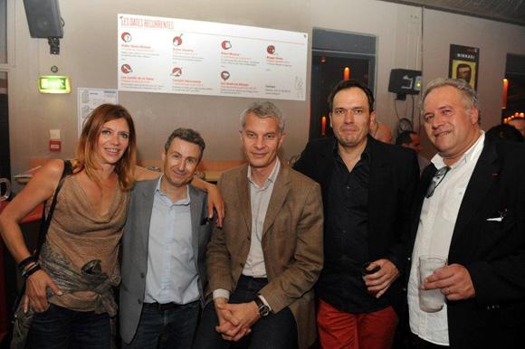 49. Sandrine Frih, Thierry Lahon, Jérôme Malaski, Pierre Chambon et Laurent Duc