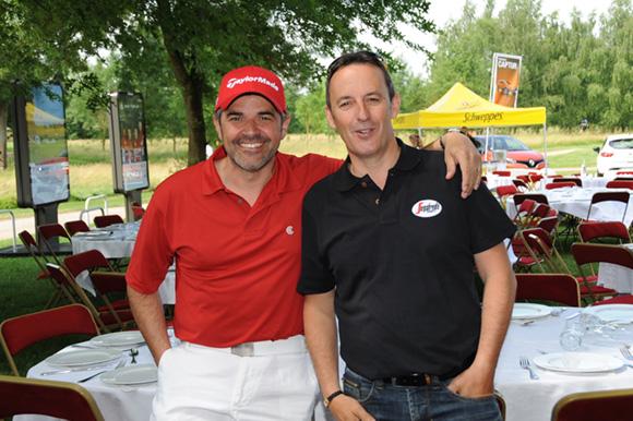 5. Sébastien Tournissoux (Grand Lyon Boissons) et François Perret (Segafredo)