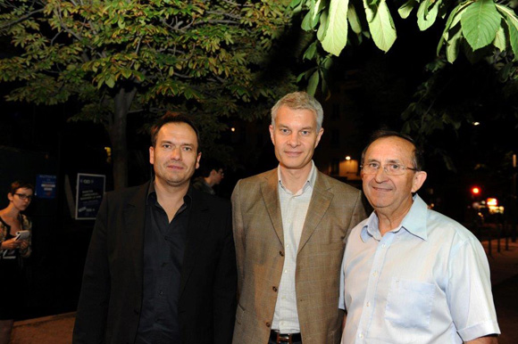 5. Pierre Chambon, Jérôme Malaski, élu du 3ème et Jean Stanko (JNA)