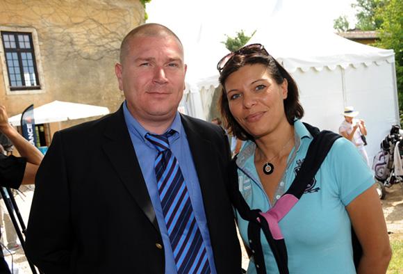 6. François Pietri, président du Rugby club de Roanne) et Jessica Jung (GFC Construction)