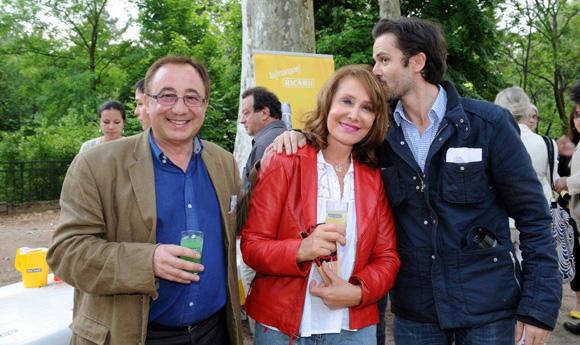 6. Daniel Dubois (Surf TV), Françoise Petit et Benjamin Solly (Lyon People)