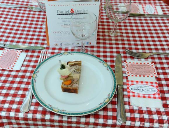 6. Chez Daniel & Denise, pâté en croute au foie gras & ris de veau (Champion du monde 2009)