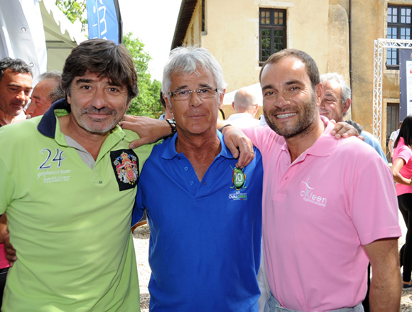7. Michel Neyret, Gilles Delaigue et Serge Gradante (CKleen)