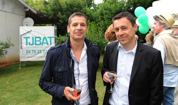 7. Henri Ortega (BTP Banque) et Eric Bonin (Peugeot Slica)
