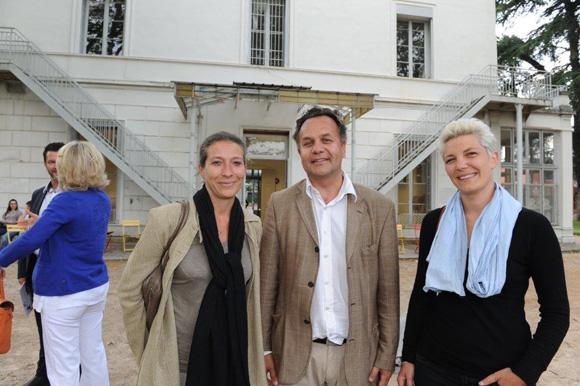8. Isabelle Dumas (ISCPA), François-Nicolas d'Alincourt et Claire Labaune (ISCPA)