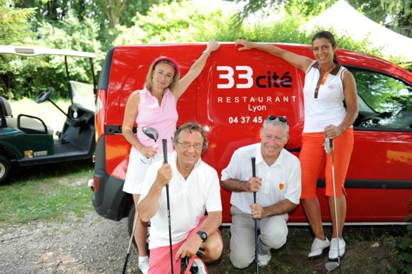 9. Valérie Melon, Didier Charbonnel, Denis de Benazé et Blandine Brochier