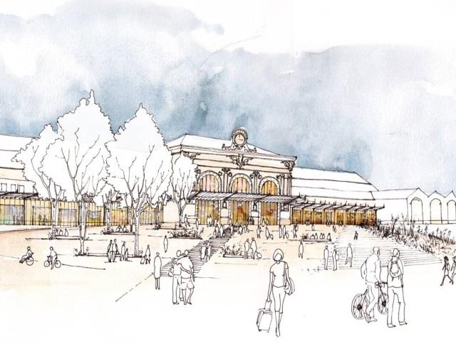 Un nouveau visage pour la gare de Perrache d'ici fin 2020