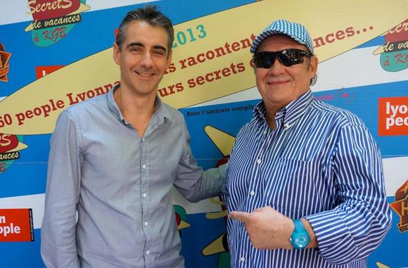 Guy Bardel et Vincent Covolo. Secrets de vacances à KGB