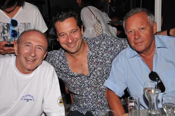 19. Gérard Collonb, Laurent Gerra et Georges Blanc