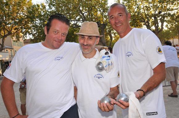 25. Benoît Offroy, Stéphane Marraponi et Antoine Binard