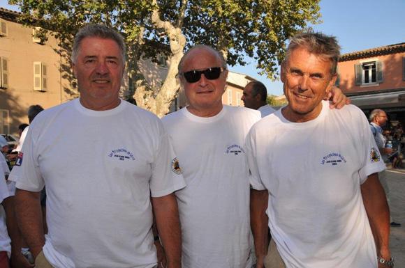 3. Gérard Vannier, Jean-Claude Caro et Luc Reversade