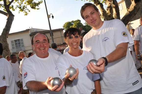 8. Bernard Jandard, Marina Coirre et Emmanuel Berton