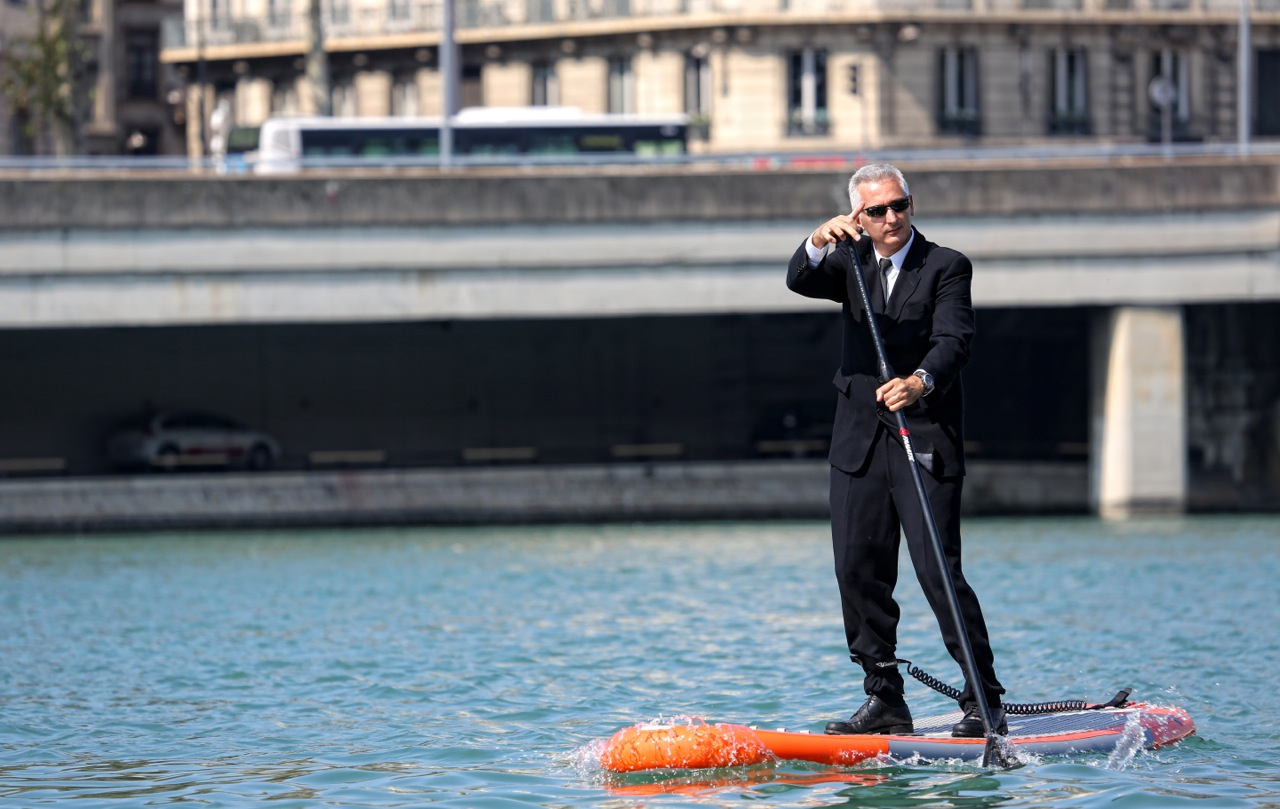 Stand Up Paddle. 3e édition de l'Open de Lyon