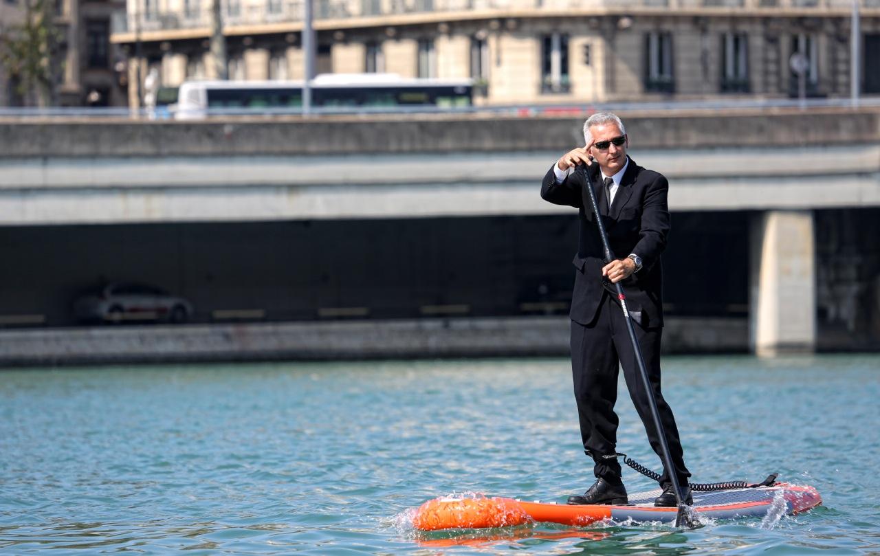 Stand Up Paddle. 3e édition de l'Open de Lyon