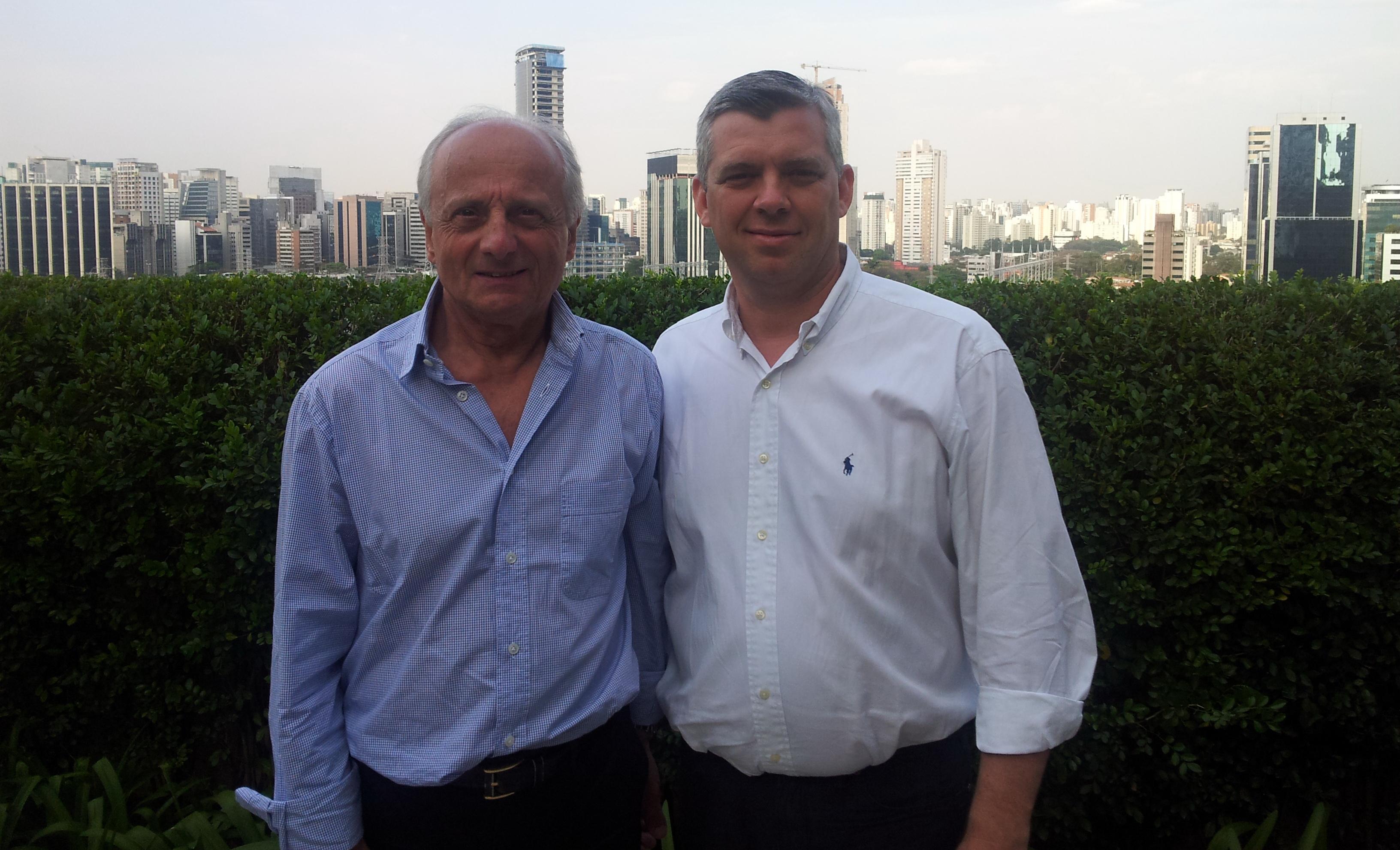 Laurent Bouvier et Pierre Orsi. Bons baisers de Sao-Paulo