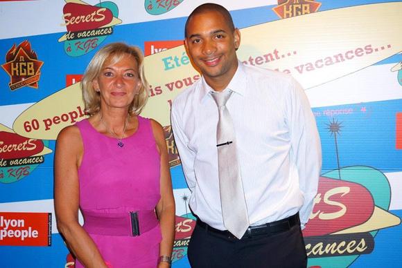 Marie-Odile Fondeur et Vincent Balse. Secrets de vacances à KGB