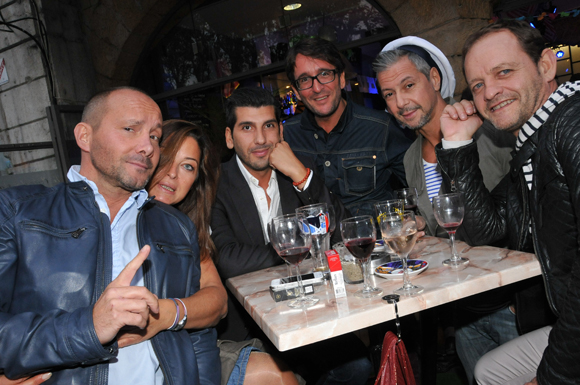 9. Denis Michon, Edith Rosay, Farid Ham, David Bertrand, Mathieu et Hervé Bucher
