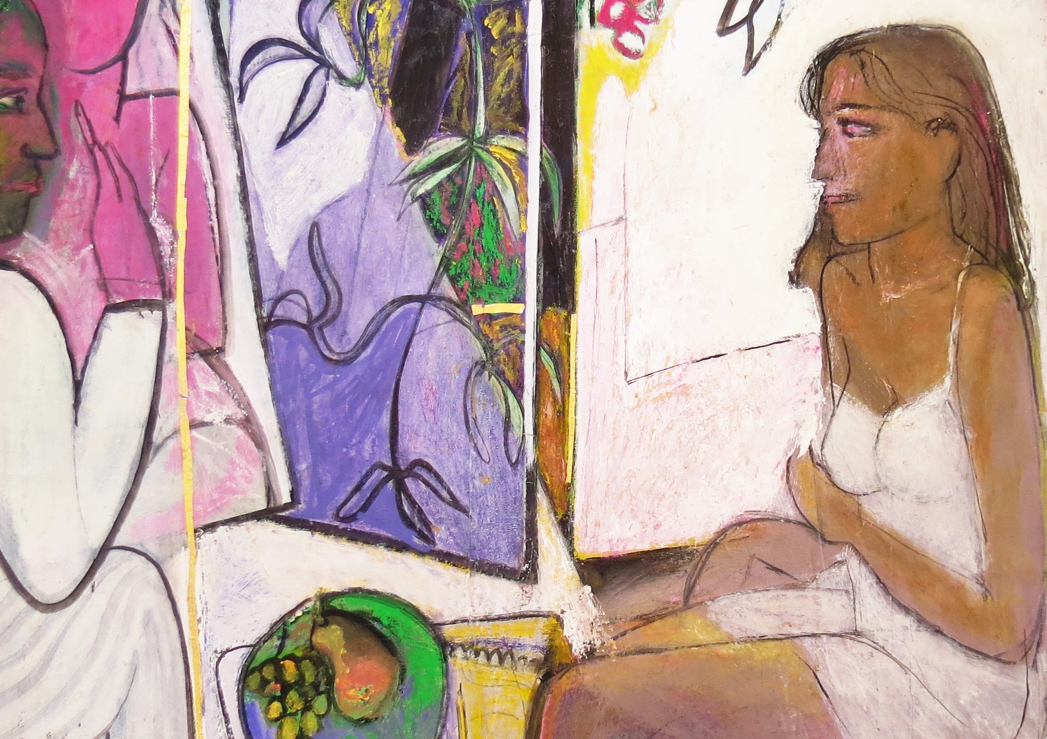 Galerie Gilbert Riou. Joël Real, le peintre du silence