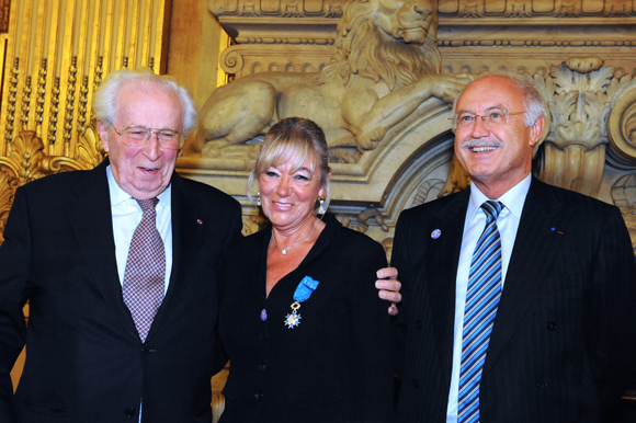 Ordre National du Mérite. Mireille Imbaud épinglée