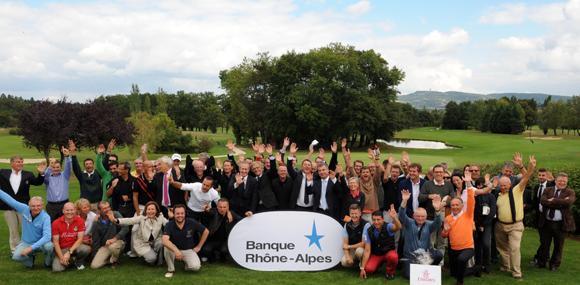Trophée de Golf Banque Rhône-Alpes 2013