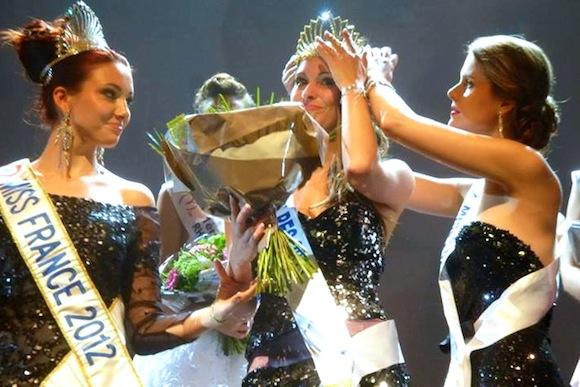 Miss Rhône-Alpes 2013. L'écharpe et le diadème pour Mylène Angelier