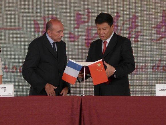 Le président chinois Xi Jinping passera-t-il par Lyon en 2014 ?