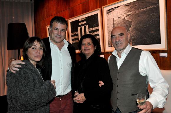 Vernissage de Bruno Paccard chez Orosa. Project@buren-t-13.com