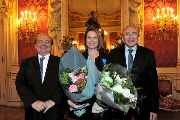 Anne-Sophie Condemine décorée de l'Ordre du Mérite