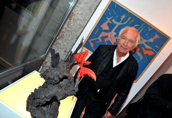 Galerie Gilbert Riou. Jean-Marc Requien bien verni !