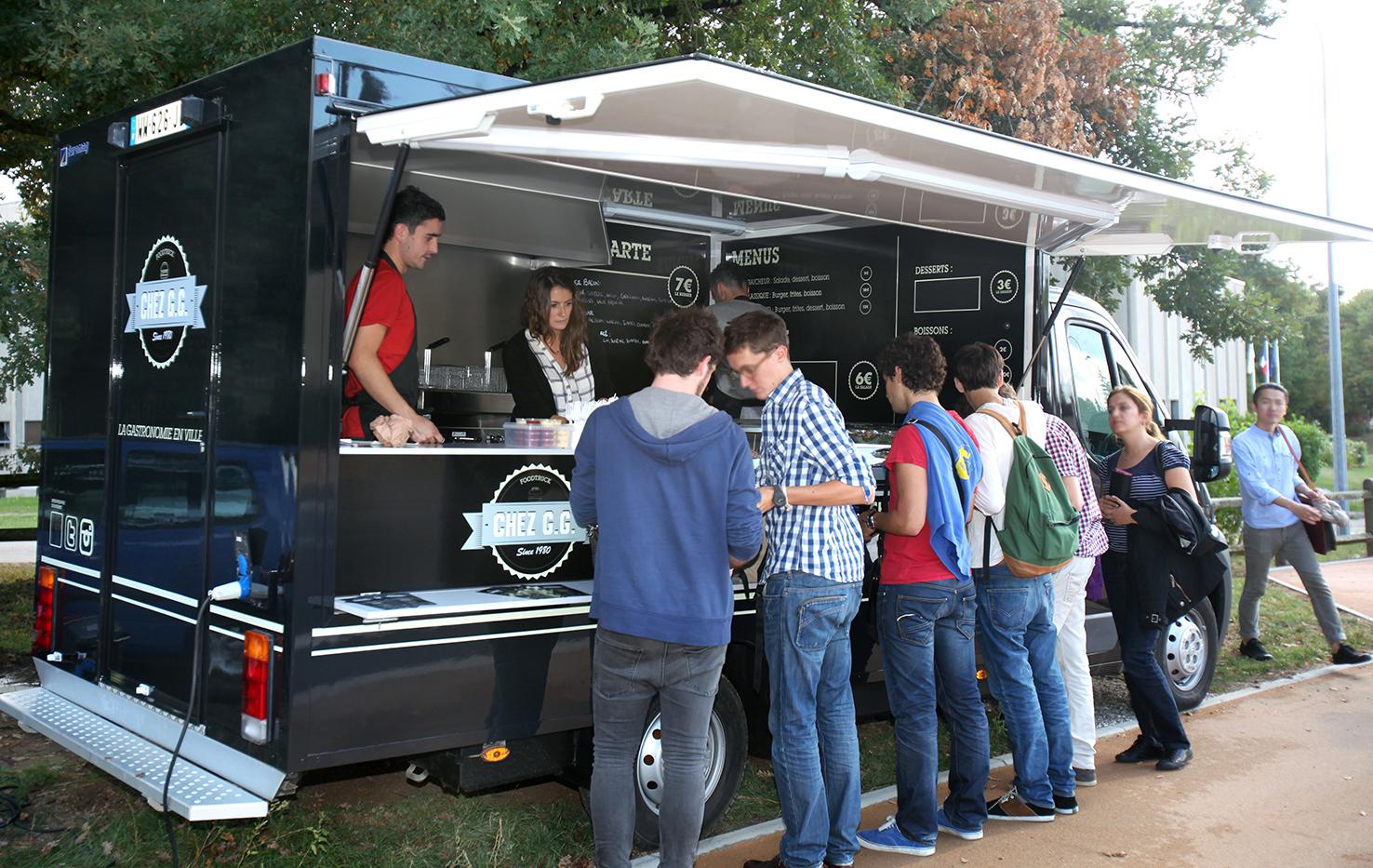 Chez GG, le premier Food Truck professionnel lyonnais