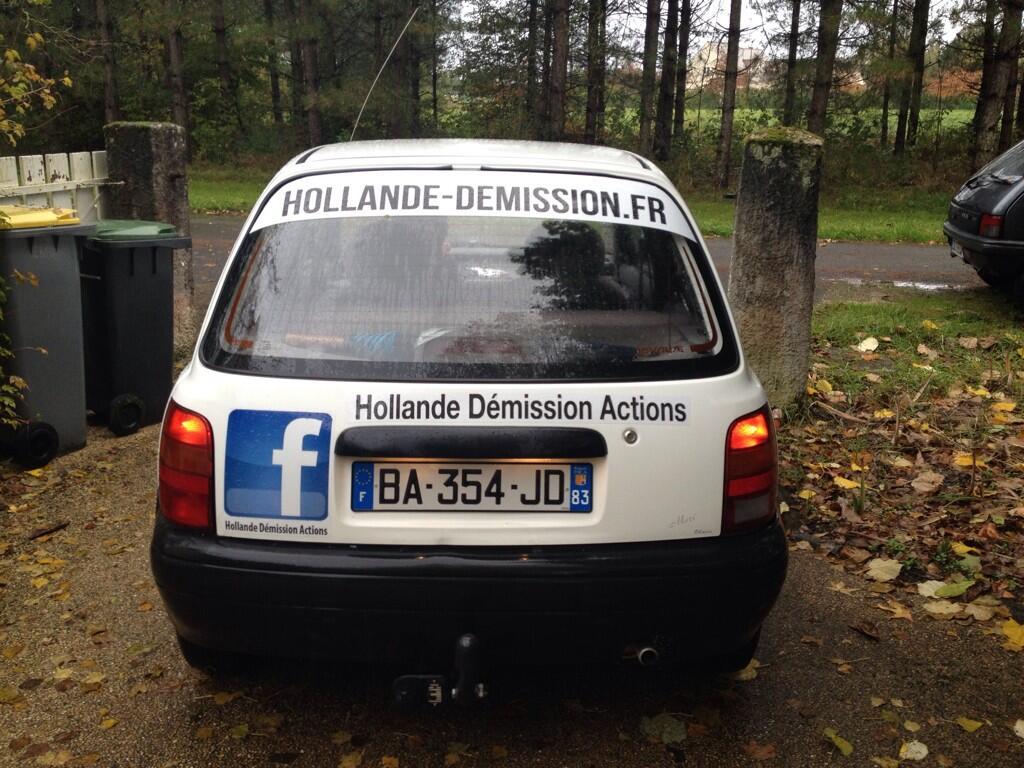 Le fondateur du site Hollande-demission.fr arrêté