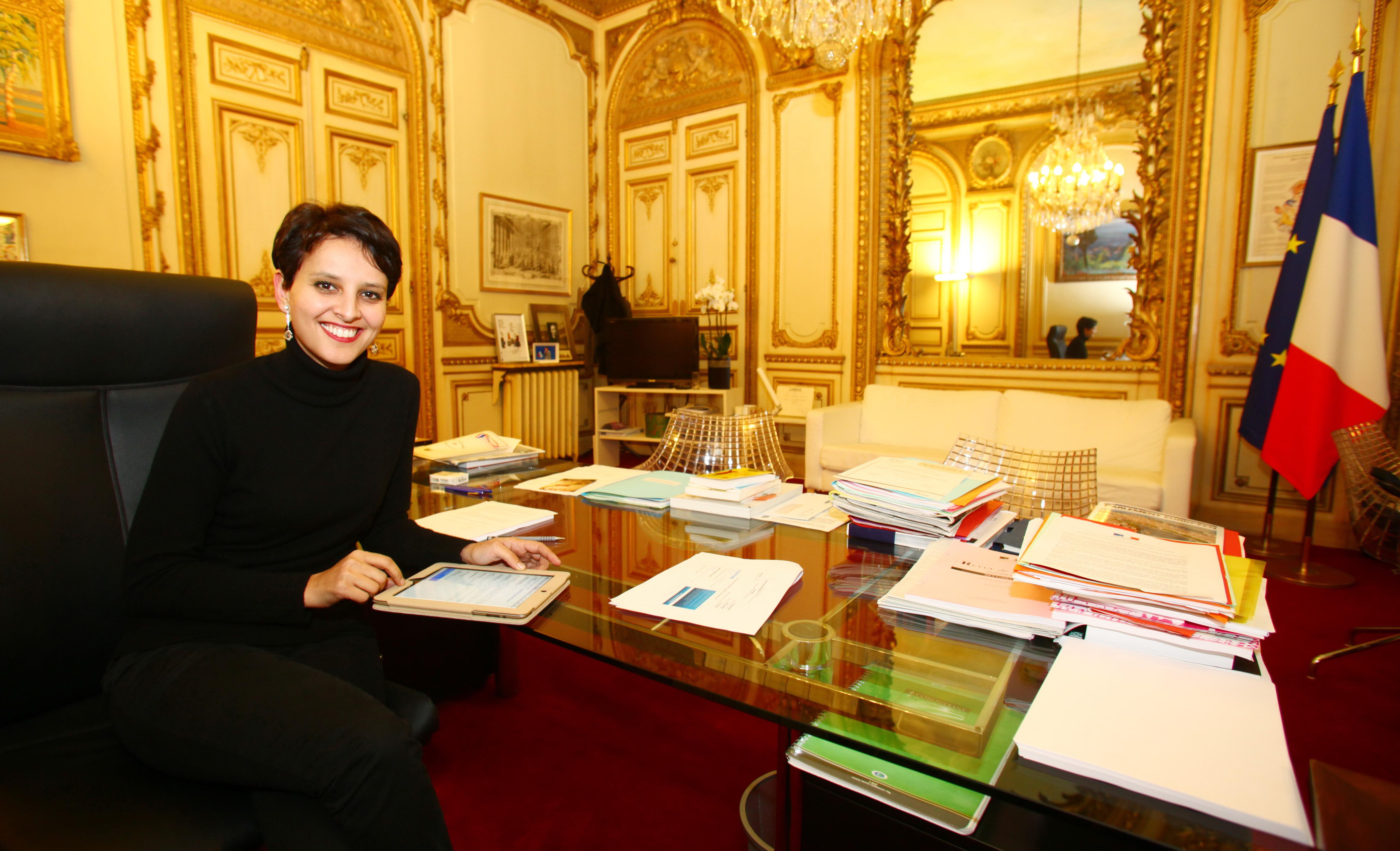 Les ministres qui coûtent le plus cher. Najat Vallaud-Belkacem, 2,13 millions € en 2013