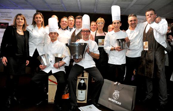 Championnat du monde de pâté-croute 2013.  Le gagnant se fait la Malle (à la Rotonde) !