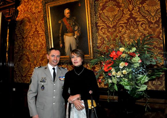 10. Le colonel Gilles Coulognon et Saltanat Tashmatova (OIPC Genève)