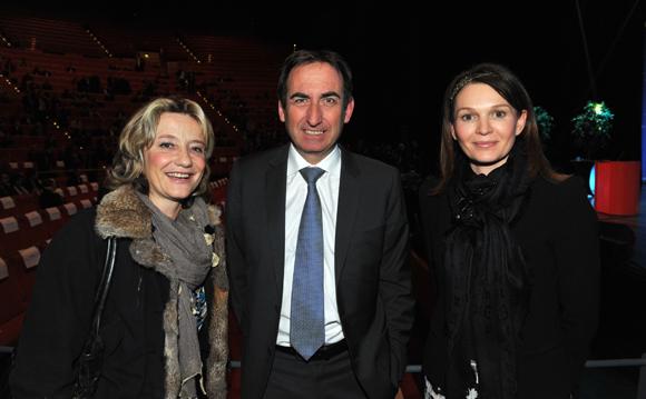 10. Estelle Farina, Bernard Buisson et Rachel Emir (CA Centre-est)