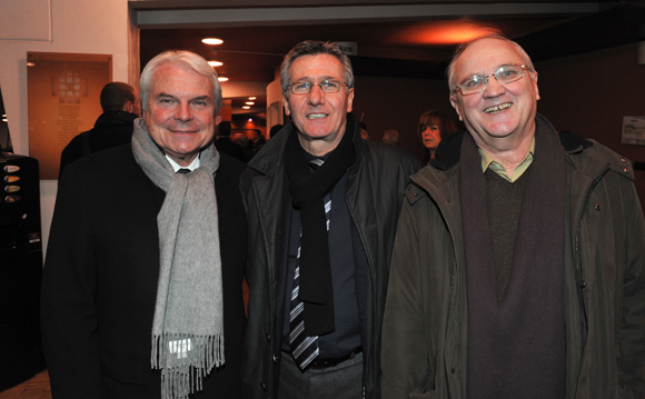 10. Jacques Matagrin (OL), Jean-Paul Delperié (Vinci Construction) et Robert Barret