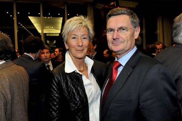 11. Christian Gelpi, président de France U.S.A, son épouse Yolande